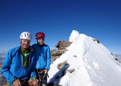 Gipfel Matterhorn mit Sohn Philip 13J-2013_05_09